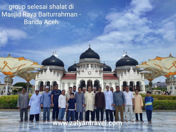 Masjid Raya Baiturrahman di Banda Aceh